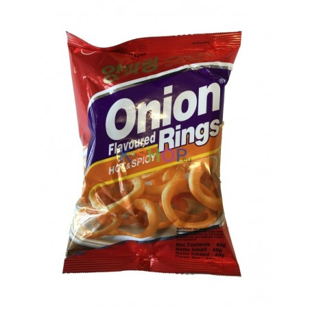 NS Onion Ring Snack (Hot) 40g