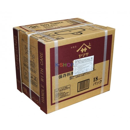 Yamasa Soysauce from Japan 18L